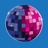 Symbol f?r vektor f?r boll f?r disko f?r symbol f?r diskobollvektor vektor illustrationer