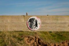 Symbol: Farliga klippor Fotografering för Bildbyråer