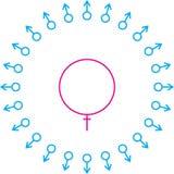 Symbol fertilization Royalty Free Stock Photography