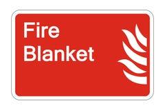 Symbol Feuer-umfassendes Sicherheits-Symbol-Zeichen auf weißem Hintergrund, Vektorillustration lizenzfreie abbildung