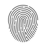 Symbol fingerprint Stock Images