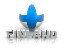 Symbol of Finland Royalty Free Stock Photo