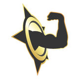 Symbol for fitness Royalty Free Stock Photo