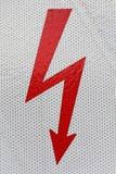Symbol flash high voltage Stock Photos