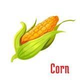 Symbol för växt för grönsak för havreöra Fotografering för Bildbyråer
