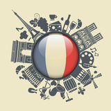 Symbol of France Royalty Free Stock Photography