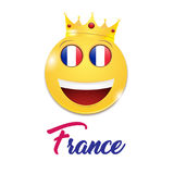 Symbol of France Stock Photo