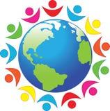 Symbol, Frieden, Planetenerde Lizenzfreies Stockbild