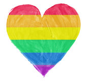 Symbol of gay,lesbian love Royalty Free Stock Photos