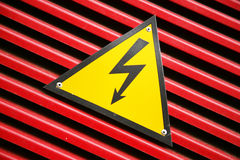 Symbol, Gefahr Lizenzfreie Stockfotos