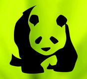 Symbol of giant panda Stock Photos