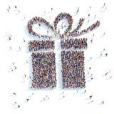 Symbol  gift. Stock Image