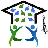 The symbol of graduation Royalty Free Stock Images