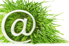 @ symbol  in grass Stock Photography