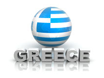 Symbol of Greece Royalty Free Stock Photography