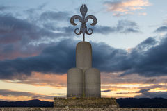 The symbol of Gubbio Royalty Free Stock Images