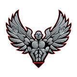 Symbol for gym and fitness Royalty Free Stock Image