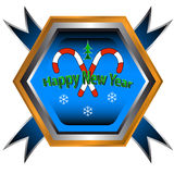 Symbol of happy new year Stock Photography