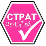 Symbol have been certified CTPAT system Royalty Free Stock Photography