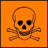 Symbol of hazard presents on dangerous products Stock Photos
