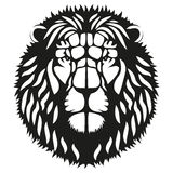 Symbol head of the lion Royalty Free Stock Images