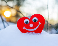 Symbol of a healthy heart Stock Image