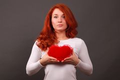 Symbol of heart Royalty Free Stock Images