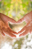 Symbol of Heart Stock Photo