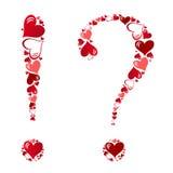 Symbol of hearts Royalty Free Stock Photography
