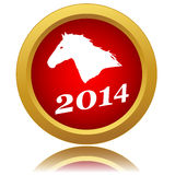 Symbol of 2014 Royalty Free Stock Photo