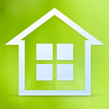 Symbol of the house Stock Photography