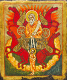 Symbol i kyrka royaltyfri foto