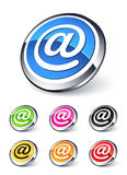 At symbol icon Stock Photography