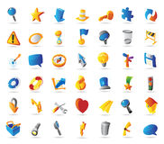 Symbol icons Stock Photos