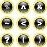Symbol icons Stock Photo