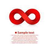 Symbol of infinity Stock Photo
