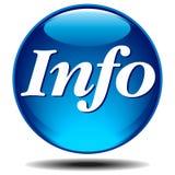symbol info Royaltyfri Fotografi