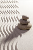 Symbol of inner beauty. Three zen pebbles designed to express smoothness and flexibility Royalty Free Stock Photos