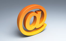 Symbol for internet Royalty Free Stock Image