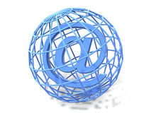 Symbol for internet. 3d Royalty Free Stock Photo