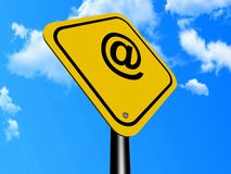 At symbol internet email Stock Images
