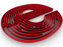 Symbol for internet. Labyrinth Stock Photos