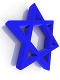 Symbol of Israel Stock Photography