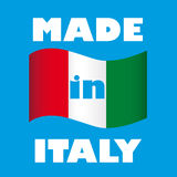 Symbol of Italian manufacture Royalty Free Stock Images