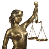 Symbol of justice Royalty Free Stock Image