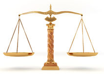 Symbol of justice. Scale Royalty Free Stock Photography
