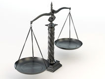 Symbol of justice. Scale Stock Photos