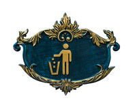 Symbol of Keep Clean Royalty Free Stock Photography