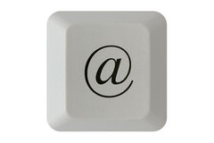 At symbol keyboard button Royalty Free Stock Photos