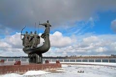 Symbol of Kiev stock photo